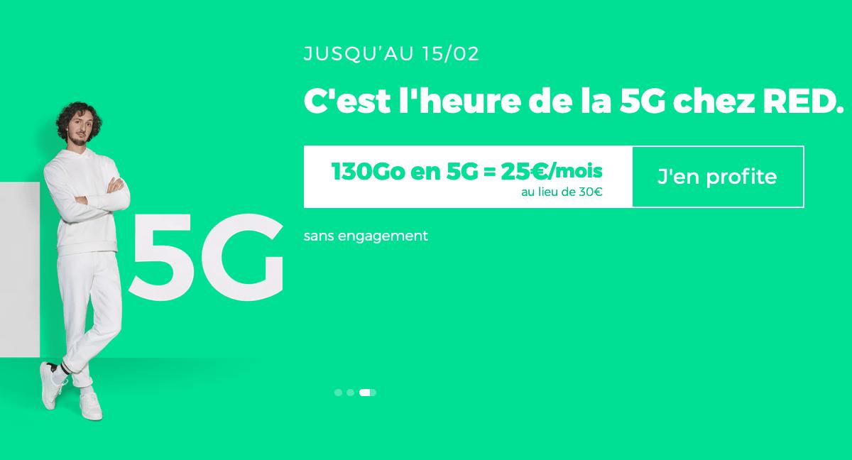 L'offre 5G de RED by SFR