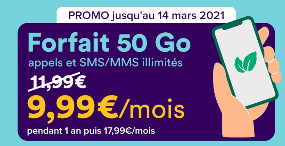Forfait 4G Mint Mobile