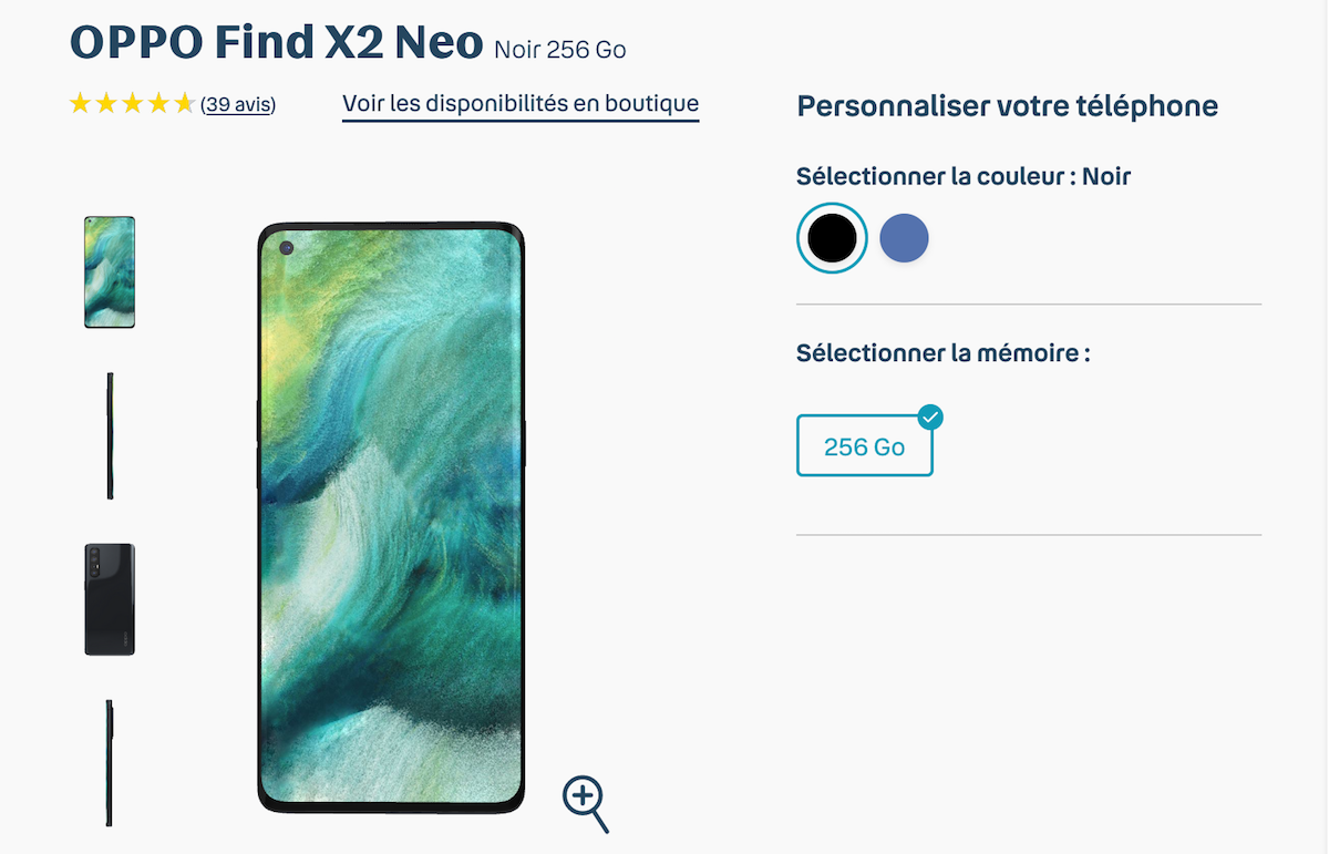 smartphone oppo find x2 neo