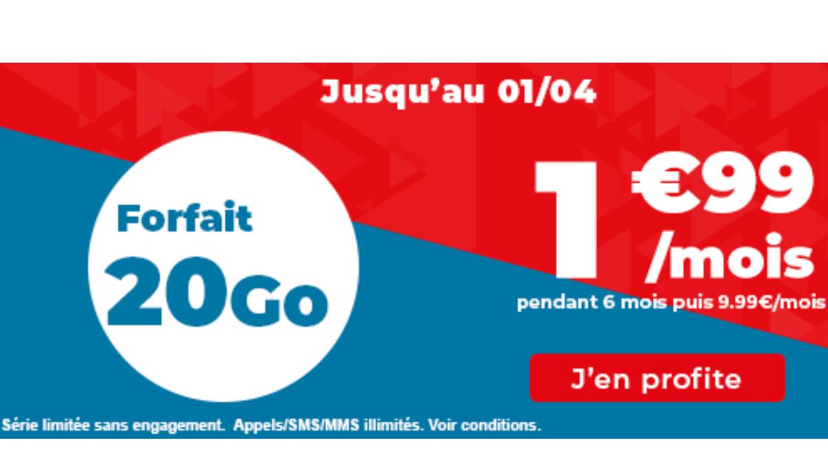 Forfait pas cher Auchan