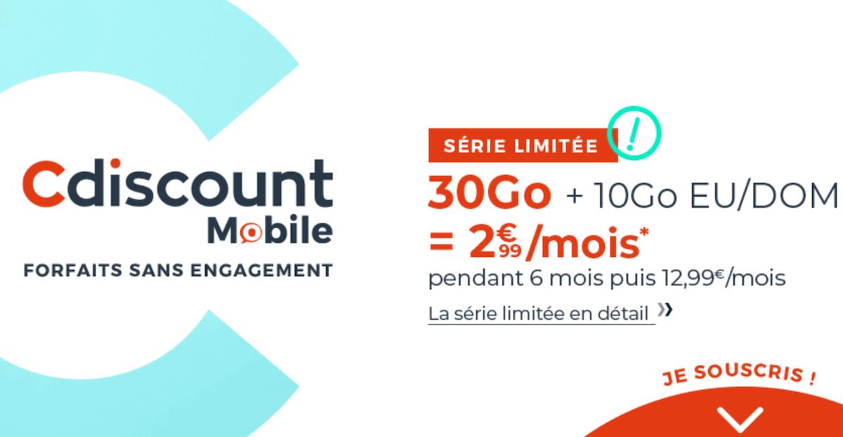 cdiscount mobile 30 go