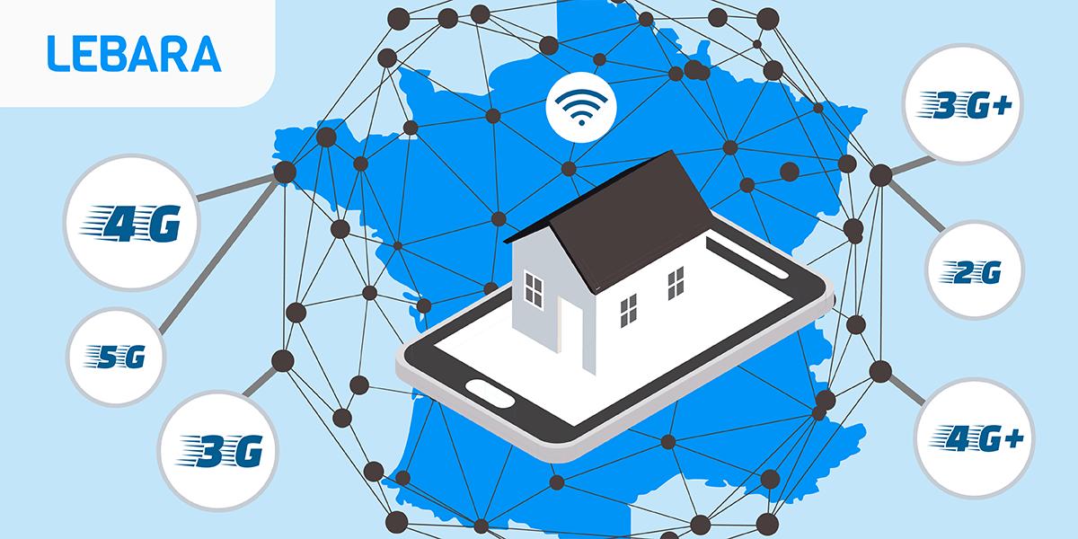 Lebara mobile : la couverture réseau.