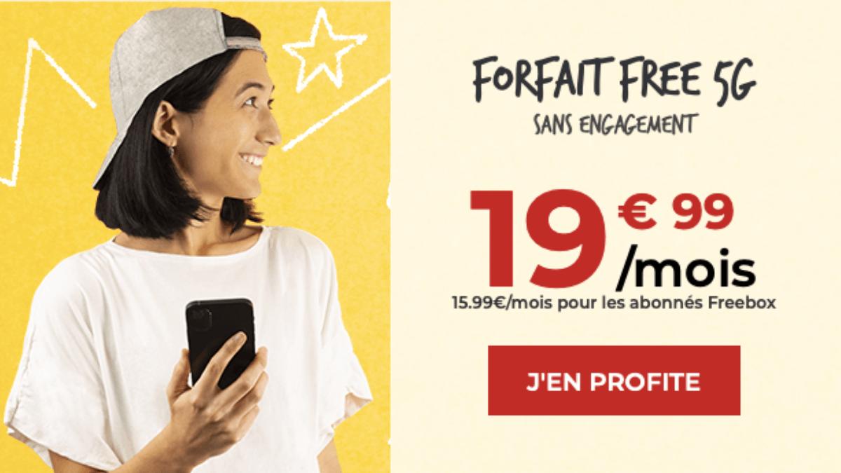 forfait 150 go vente privee free