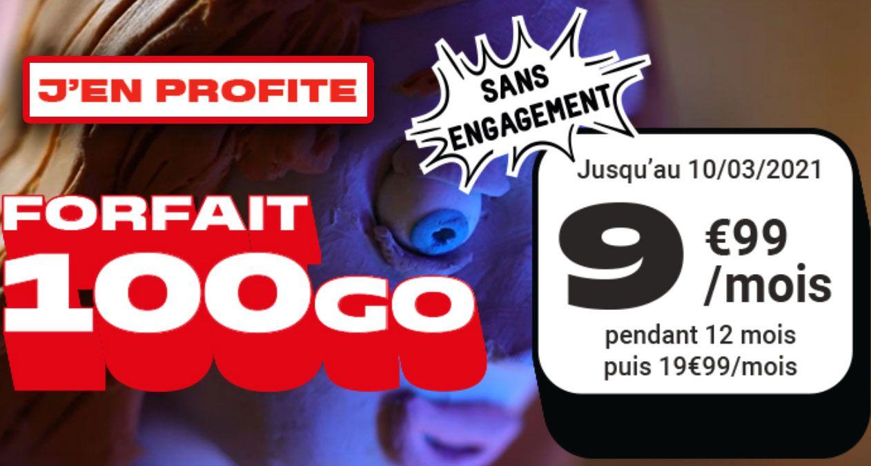 forfait en promo nrj mobile 100 go