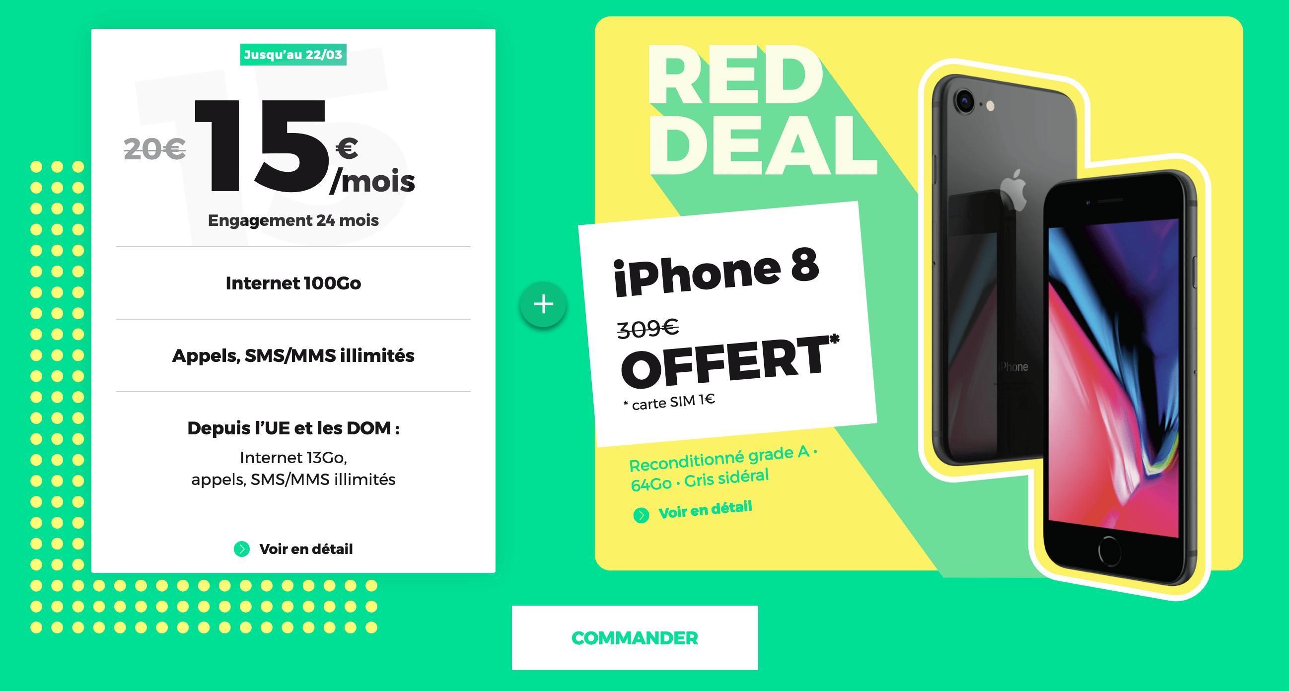 iPhone 8 offert