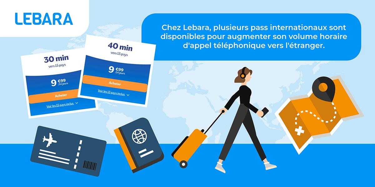 Pass international Lebara.
