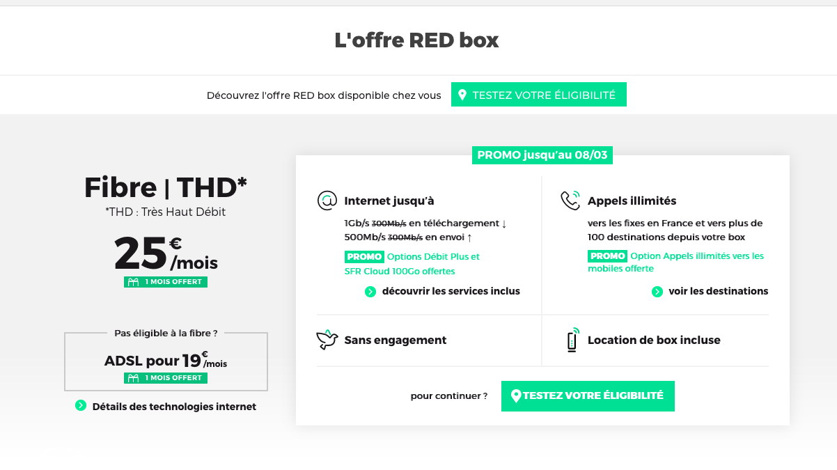 red box box internet fibre
