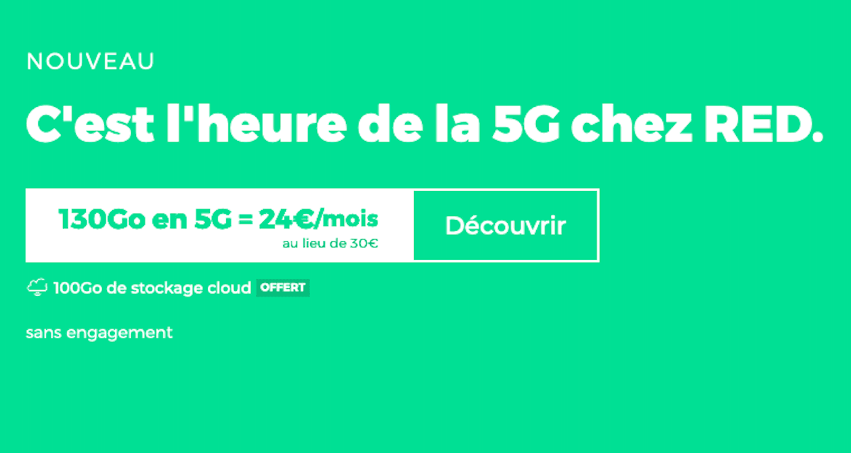 red forfait 5G