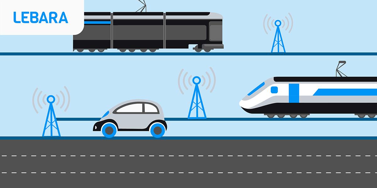 Transports : la couverture réseau Lebara.