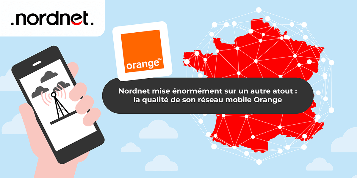 Nordnet : le réseau mobile de l'opérateur.