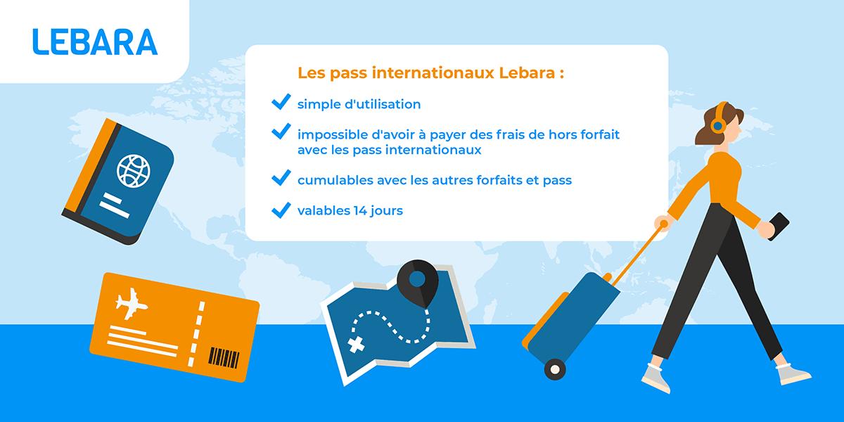 Pass internationaux Lebara.