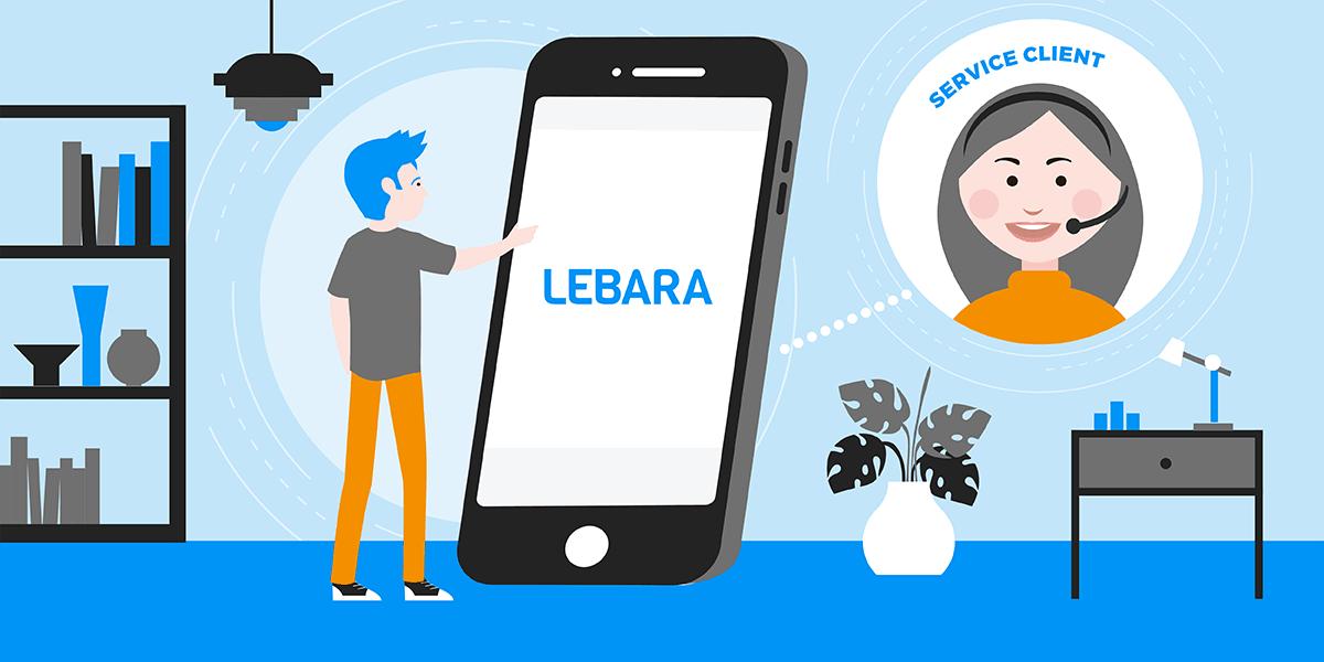 Joindre le service client Lebara.
