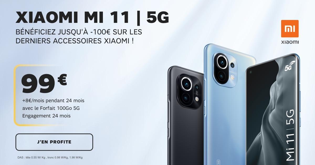 Le Xiaomi Mi 11 5G avec SFR
