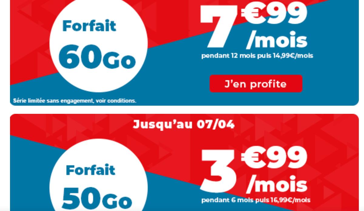Dernier jour forfaits pas cher Auchan
