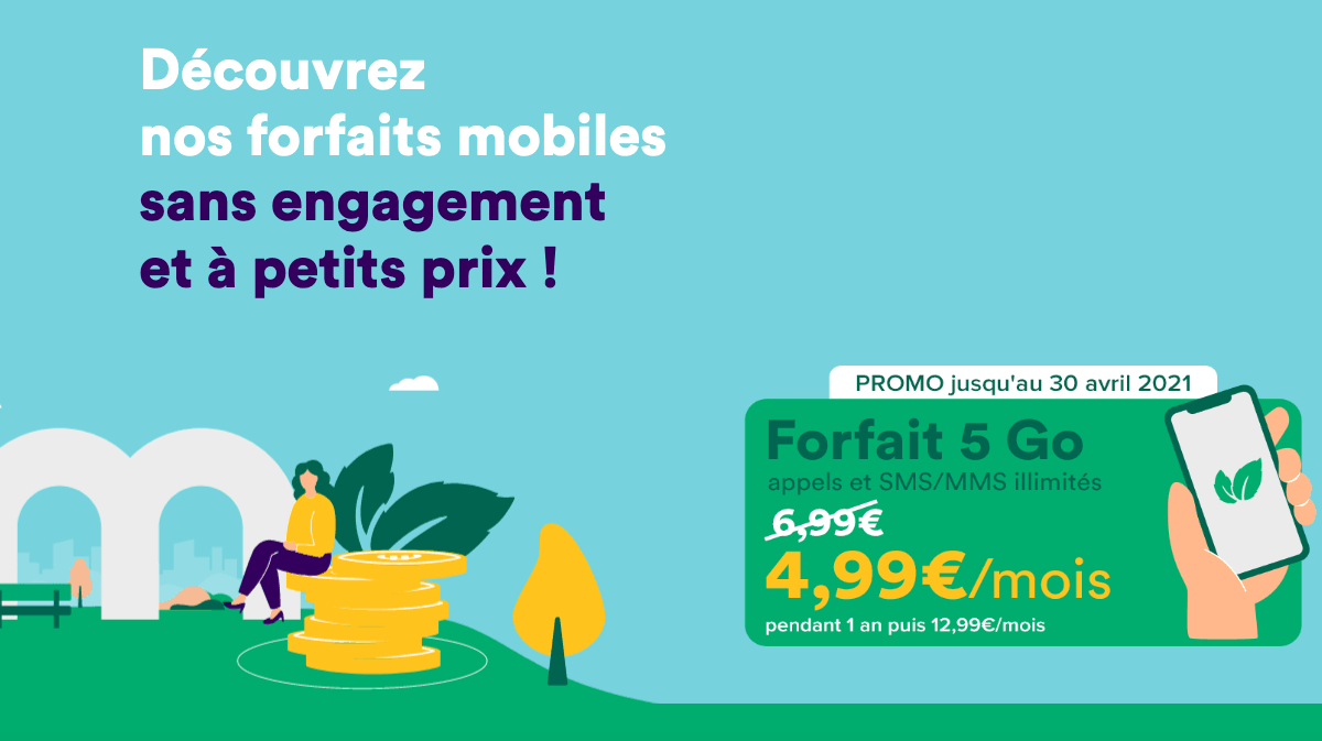Mint Mobile promo forfait à 5€