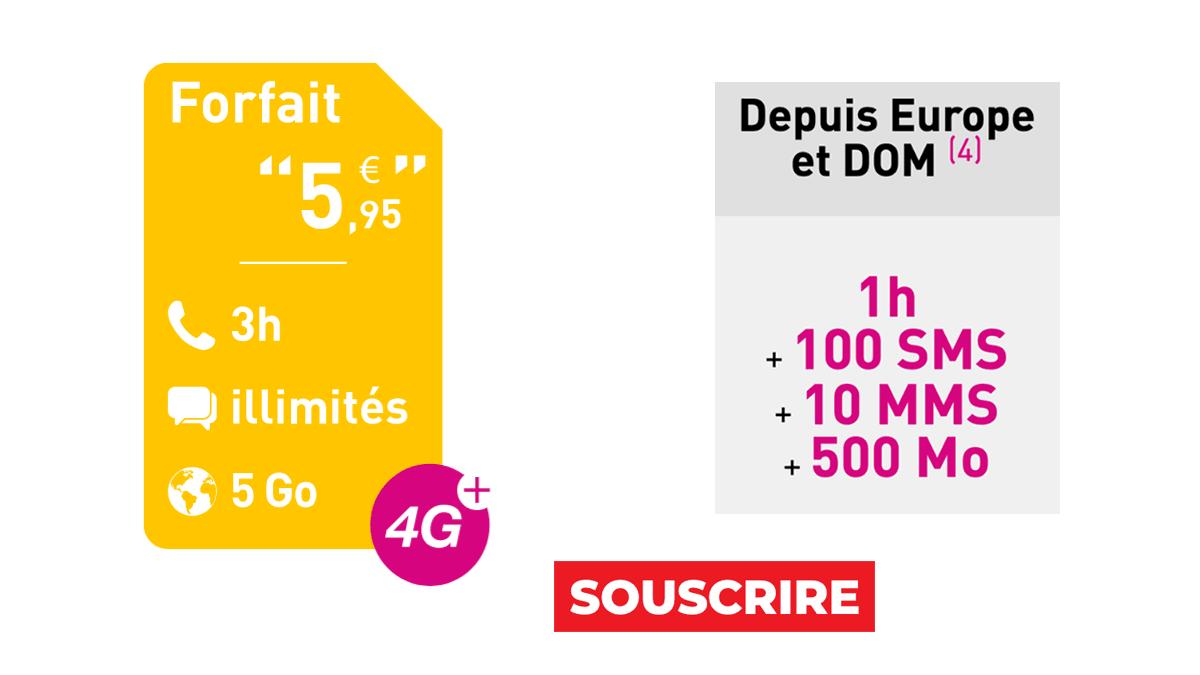 Reglo Mobile Forfait 5,95€