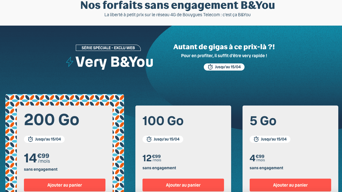 Very b&you de Bouygues