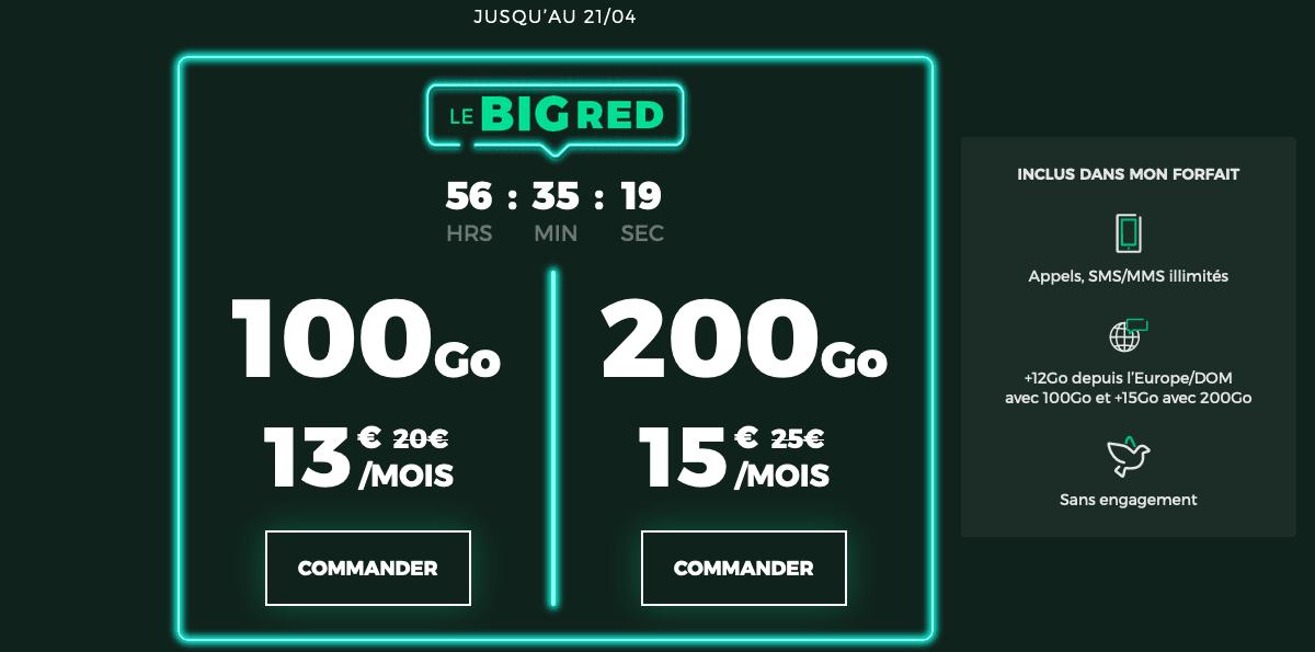 BIG RED by SFR