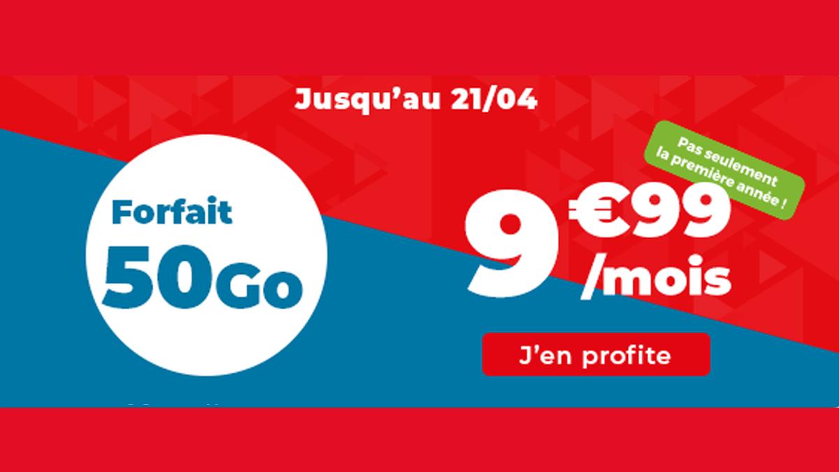 Forfait Auchan en promo