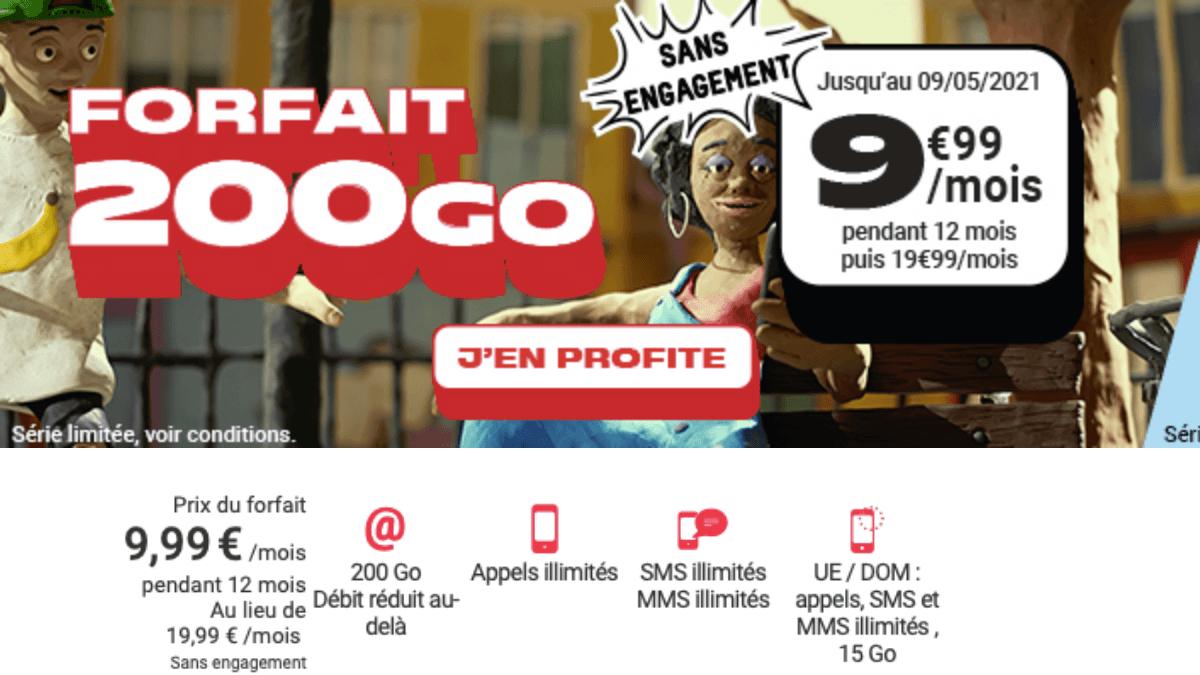 forfait 200 go nrj mobile
