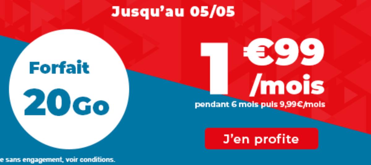 le forfait pas cher d'Auchan Telecom