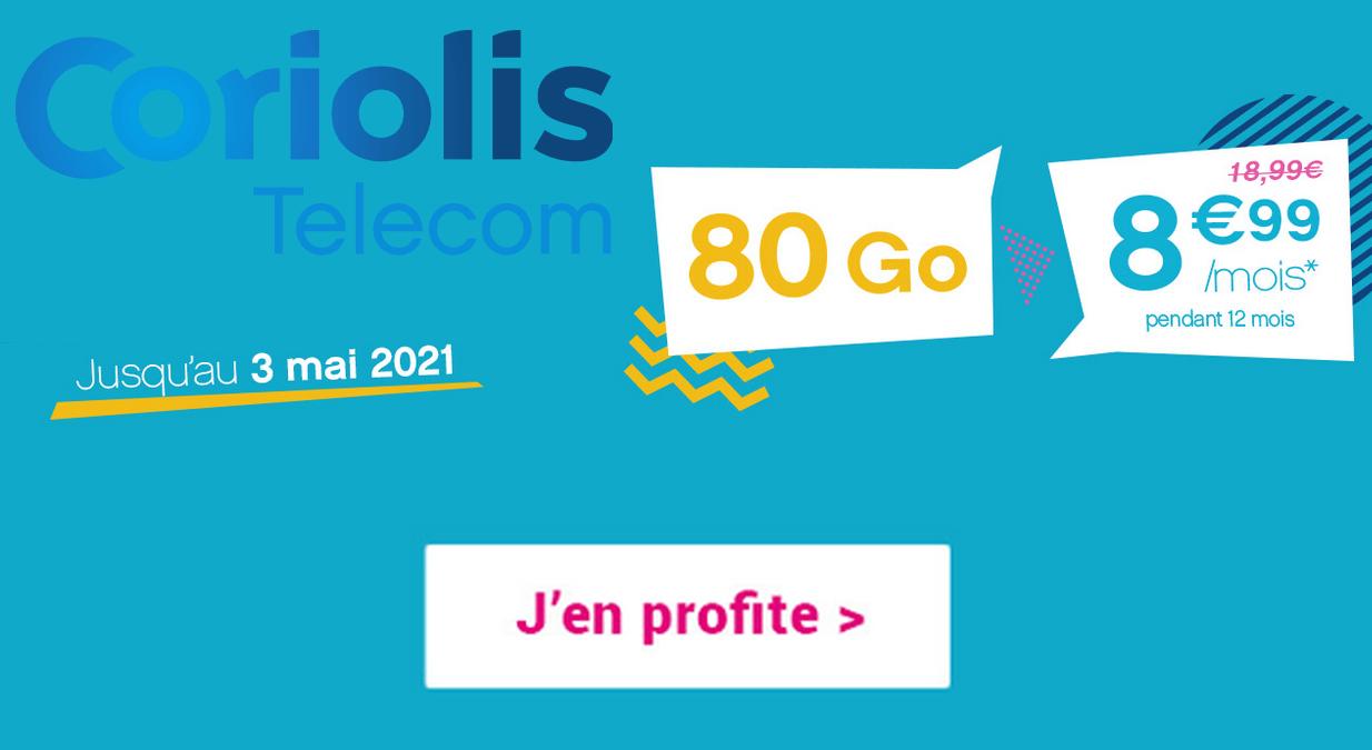 forfait 4G et promotions Coriolis