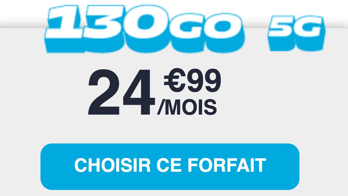 forfait 5G nrj mobile
