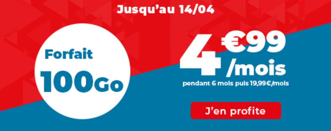 le forfait 4G Auchan