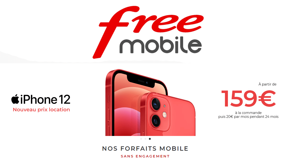 iPhone 12 Free Mobile