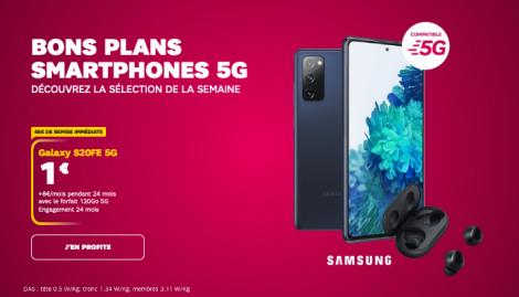 SFR promo smartphone.