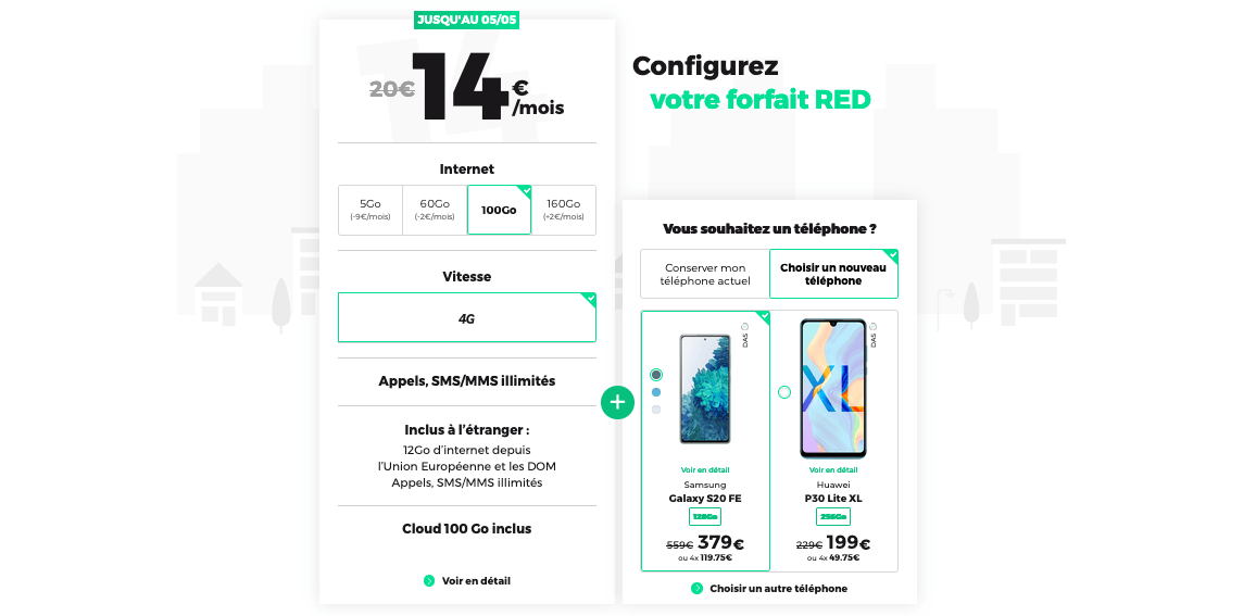 red by sfr forfaits mobiles