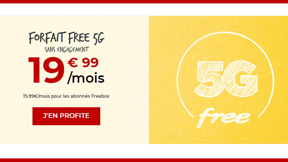 Forfait Free sans engagement