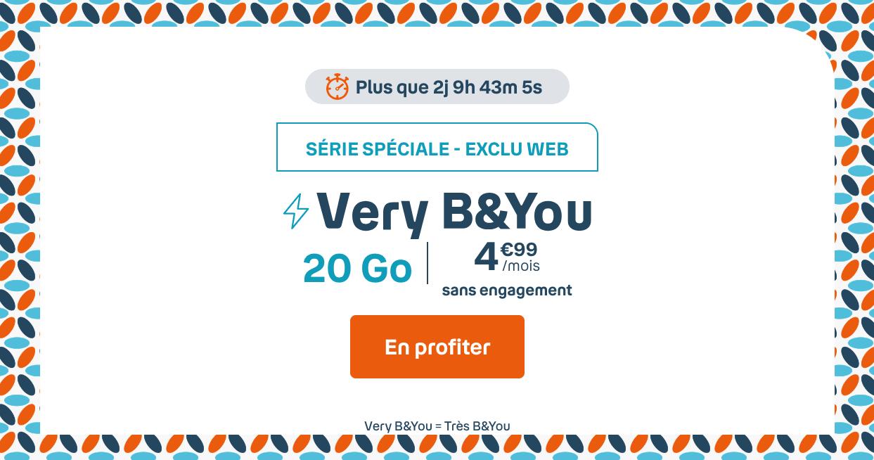 Very B&YOU à 4,99€/mois
