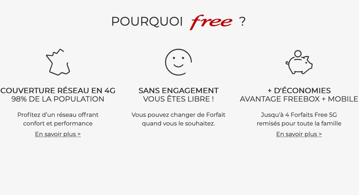 avantages free mobile