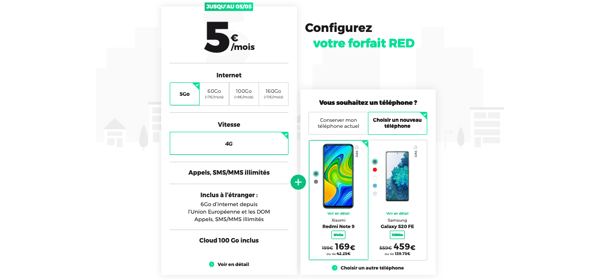 50 Go red by sfr forfaits mobiles pas chers