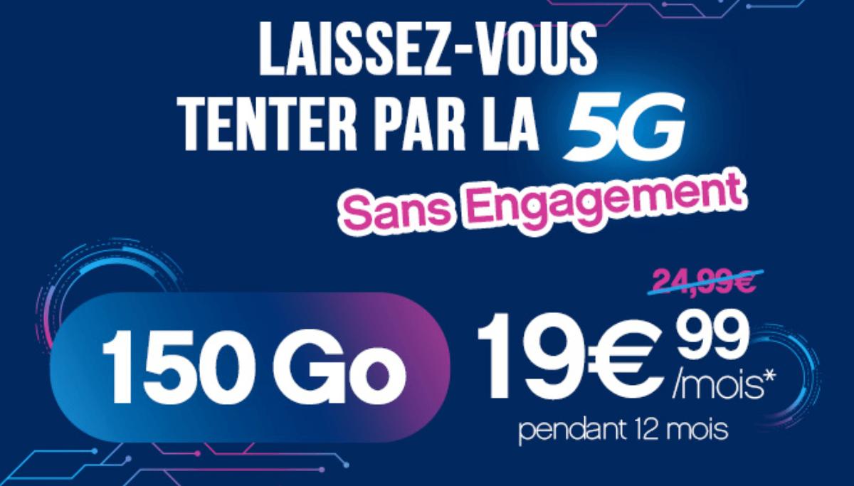 Le forfait 5G de Coriolis Telecom