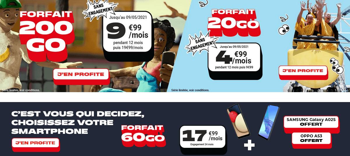 derniers jours nrj mobile promo