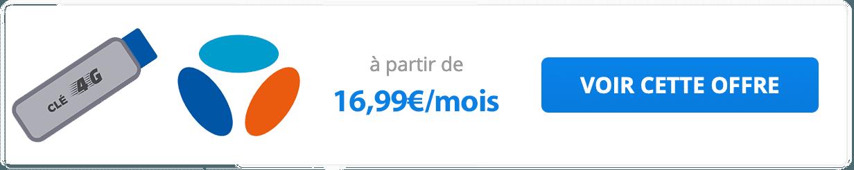 Les forfaits clé 4G de Bouygues Telecom.