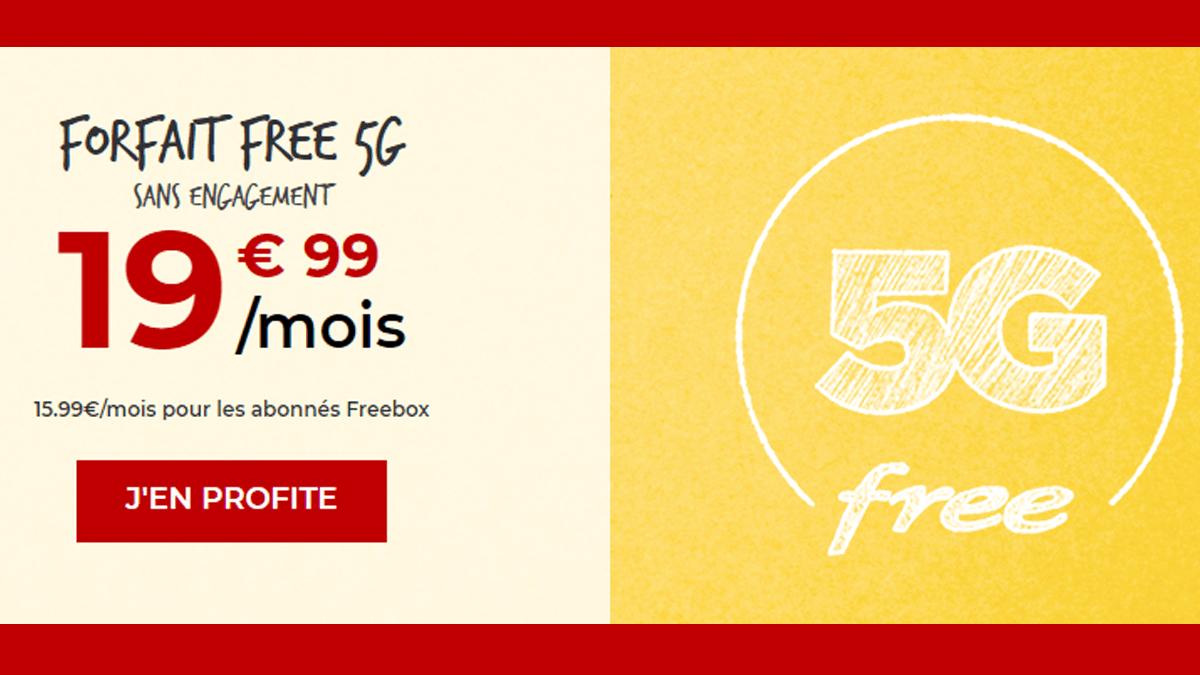 Forfait Free 19,99€