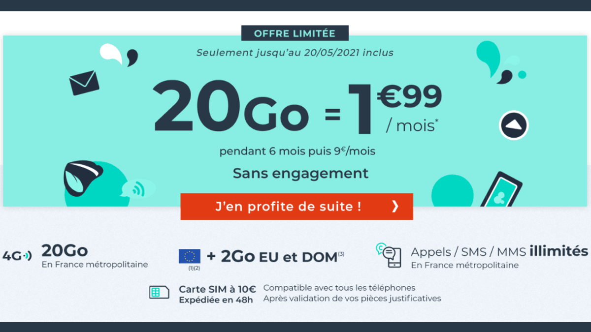 Forfaits pas chers Cdiscount