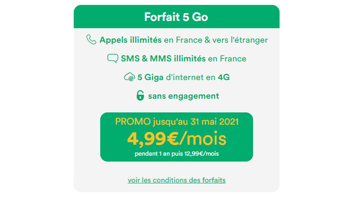Promo Mint Mobile 5€
