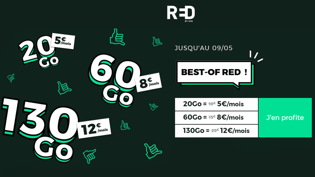Best-Of RED 20 Go