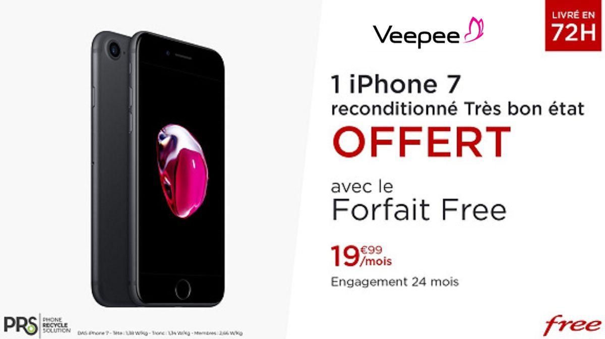 iphone 7 veepee free