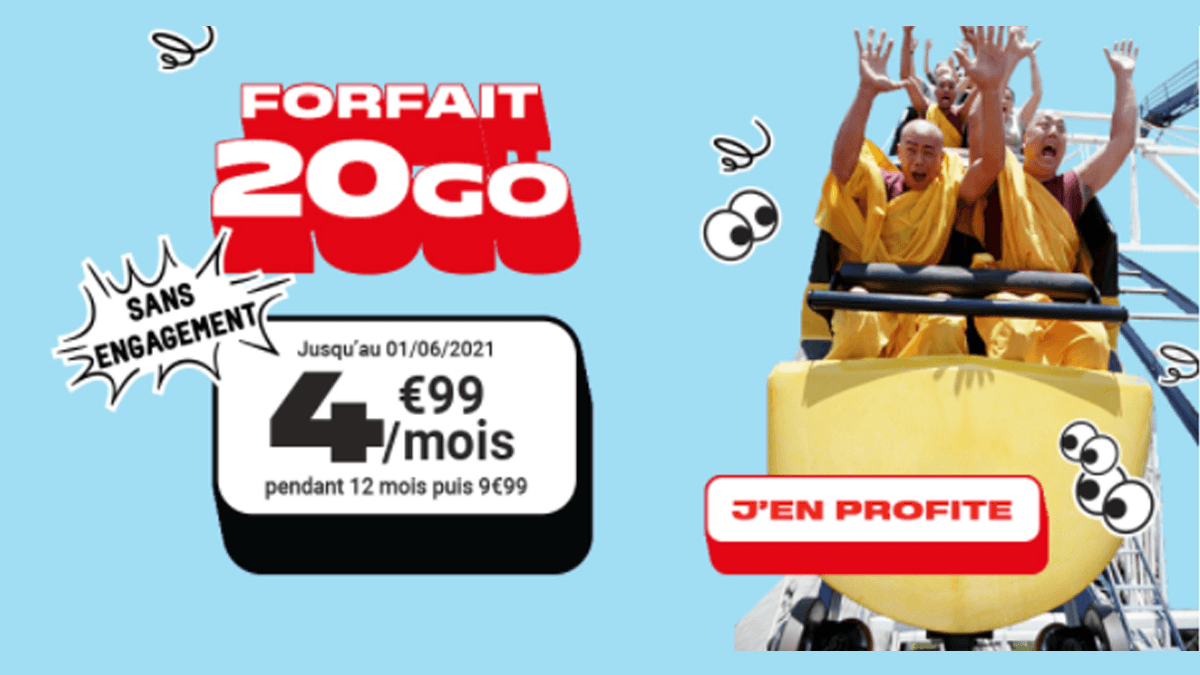 Forfait Woot 20 Go
