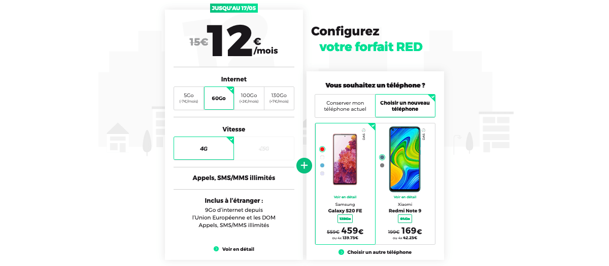 red by sfr forfaits mobiles pas chers