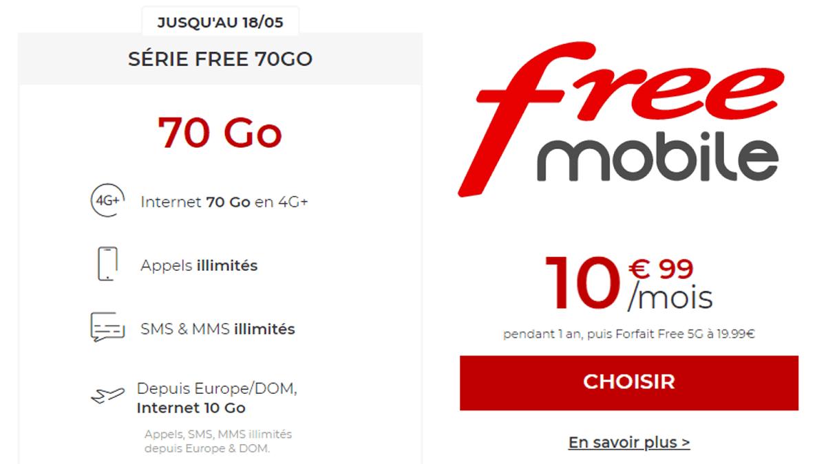 Série Free 70 Go