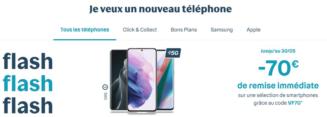 ventes flash Sensation bouygues telecom