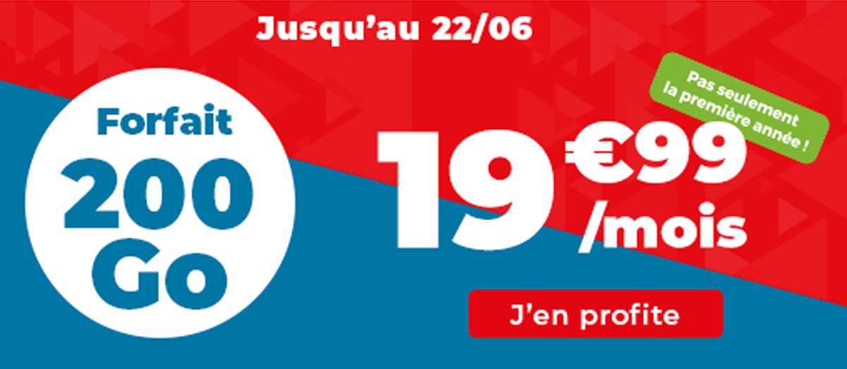 200 Go Auchan Telecom promo