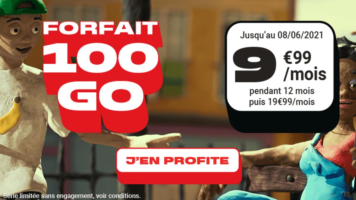 Le forfait NRJ 100 Go