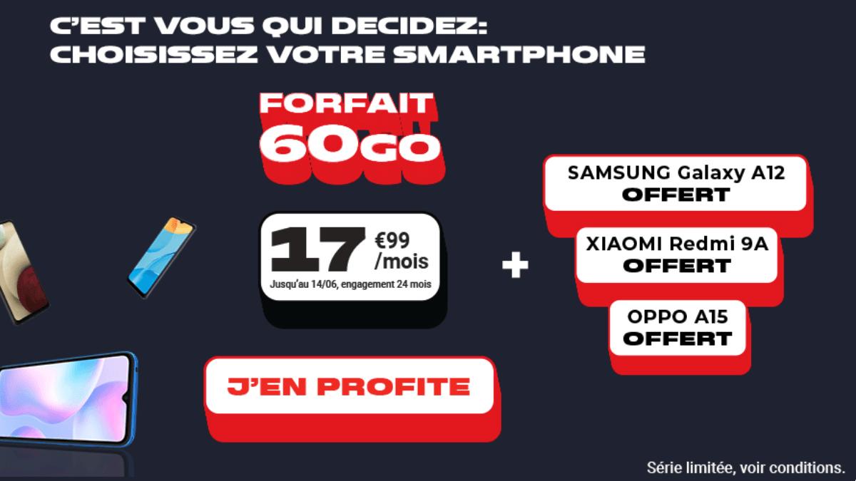 L'offre mobile 60 Go NRJ